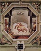 Фрески, монументальная живопись, роспись стен - Политические добродетели. Падение Марка Манилия