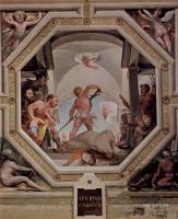 Фрески, монументальная живопись, роспись стен - Политические добродетели. Обезглавливание Спурия Кассия