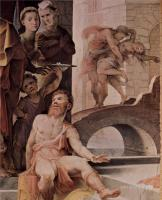 Фрески, монументальная живопись, роспись стен - Политические добродетели. Жертва Селевкия из Локриды (фрагмент)