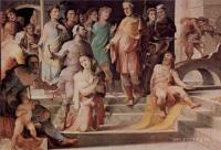 Фрески, монументальная живопись, роспись стен - Политические добродетели. Жертва Селевкия из Локриды