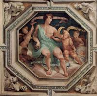 Фрески, монументальная живопись, роспись стен - Политические добродетели. Аллегория Согласия (Concordia)