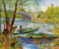 Van Gogh - Рыбалка весной
