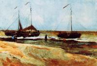 Van Gogh - Пляж Шевенингена в тихую погоду