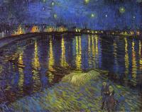 Van Gogh - Звёздная ночь над Роной