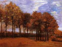 Van Gogh (Ван Гог) - Осенний пейзаж