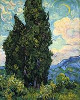 Van Gogh - Кипарисы