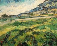 Van Gogh - Поле с зелёной пшеницей