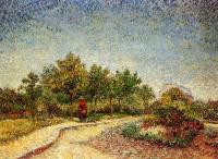 Van Gogh - Тропинка в парке Аргенсон, Аснерис