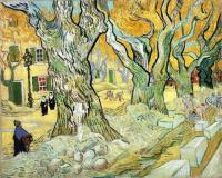 Van Gogh - Большой платан (Ремонтник дороги)