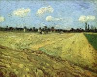 Вспаханное поле[ картина - пейзаж ] :: Ван Гог, описание картины, плюс статья про подарки