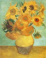Van Gogh - Натюрморт - ваза с двенадцатью подсолнухам