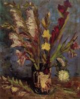 Van Gogh - Ваза с гладиолусами