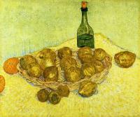Van Gogh (Ван Гог) - Натюрморт с бутылкой, лимонами и апельсинами