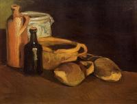 Van Gogh (Ван Гог) - Натюрморт с сабо и горшками