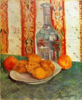 Van Gogh (Ван Гог) - Натюрморт с графином и лимонами на тарелке