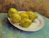 Van Gogh - Натюрморт с тарелкой лимонов