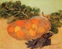 Van Gogh (Ван Гог) - Натюрморт с апельсинами, лимонами и синими перчатками