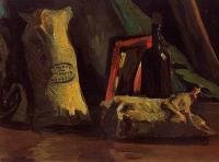 Van Gogh - Натюрморт с двумя мешками и бутылкой
