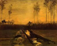 Van Gogh - Пейзаж в сумерках