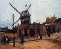 Van Gogh - Мельница де ля Галетт
