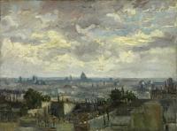 Van Gogh - Крыши Парижа