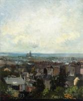 Van Gogh - Вид на Париж с окрестностей Монмартра