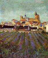 Van Gogh - Вид на Сан-Мари
