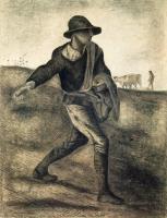 Сеятель (подражание Милле) [ картина - ранняя работа ] :: Ван Гог, описание картины