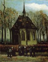 Van Gogh - Капелла в Нуенене