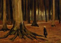 Van Gogh - Девочка в лесу