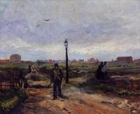 Van Gogh - Окраины Парижа